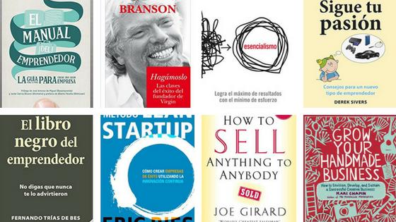 Libros fundamentales para emprender