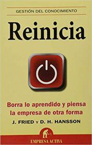 Reinicia - libro emprendimiento